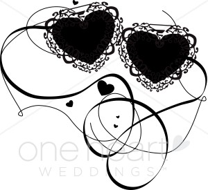 Lacy Hearts Clipart.