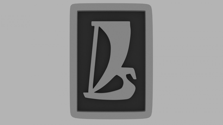 Lada logo 3D Model in Parts of auto 3DExport.