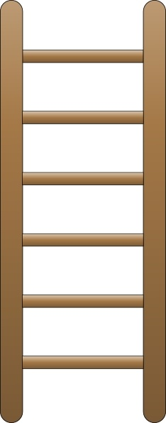Ladder clip art Free vector in Open office drawing svg ( .svg.