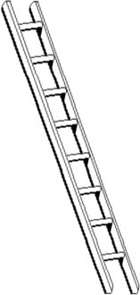 Free ladder Clipart.