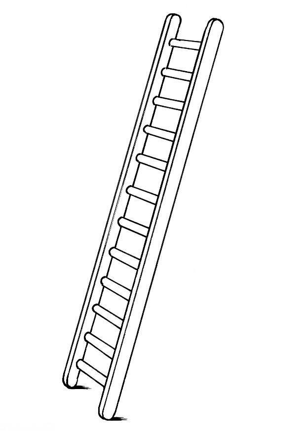 Ladder clipart black and white 1 » Clipart Station.