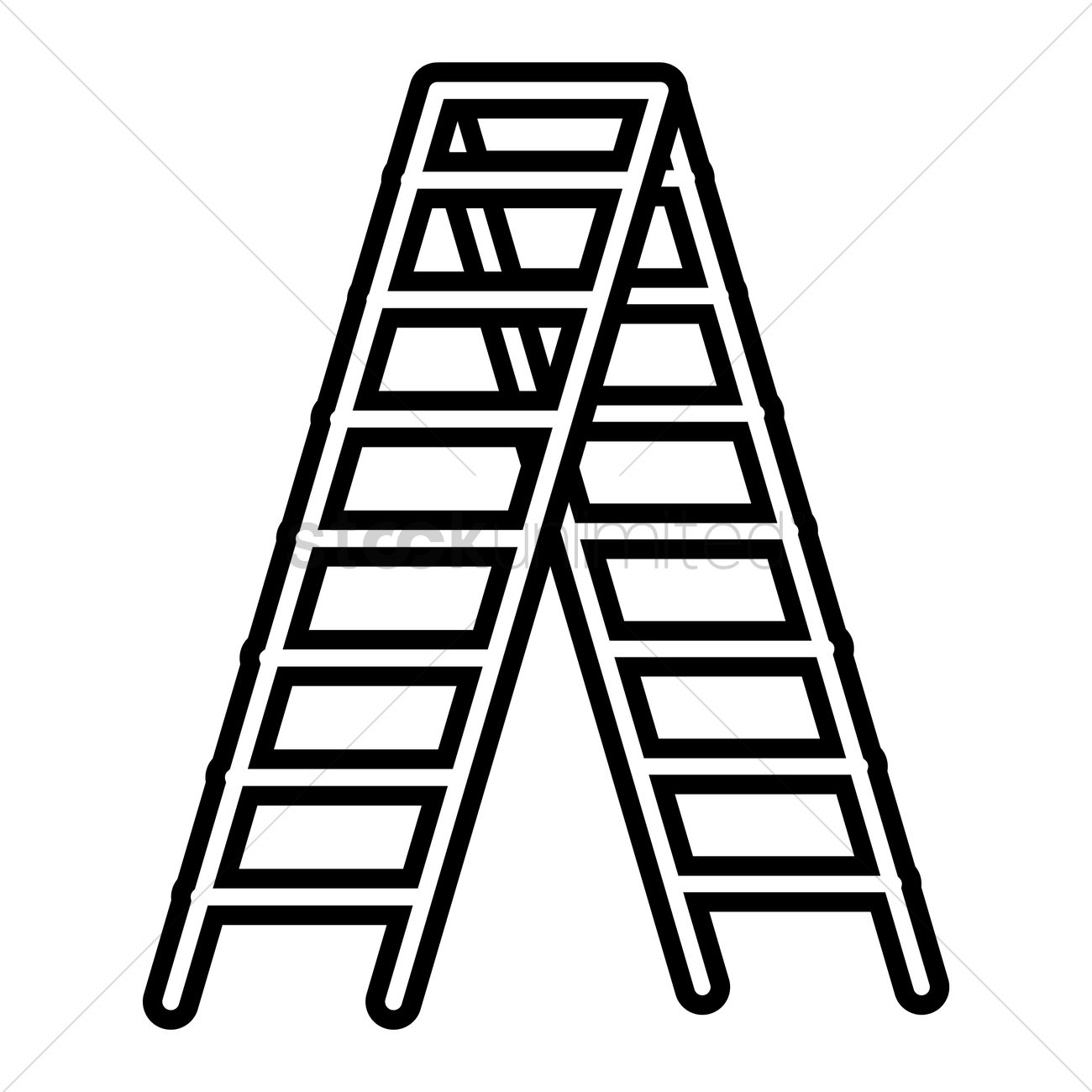 ladder clipart black and white intended for your inspiration.