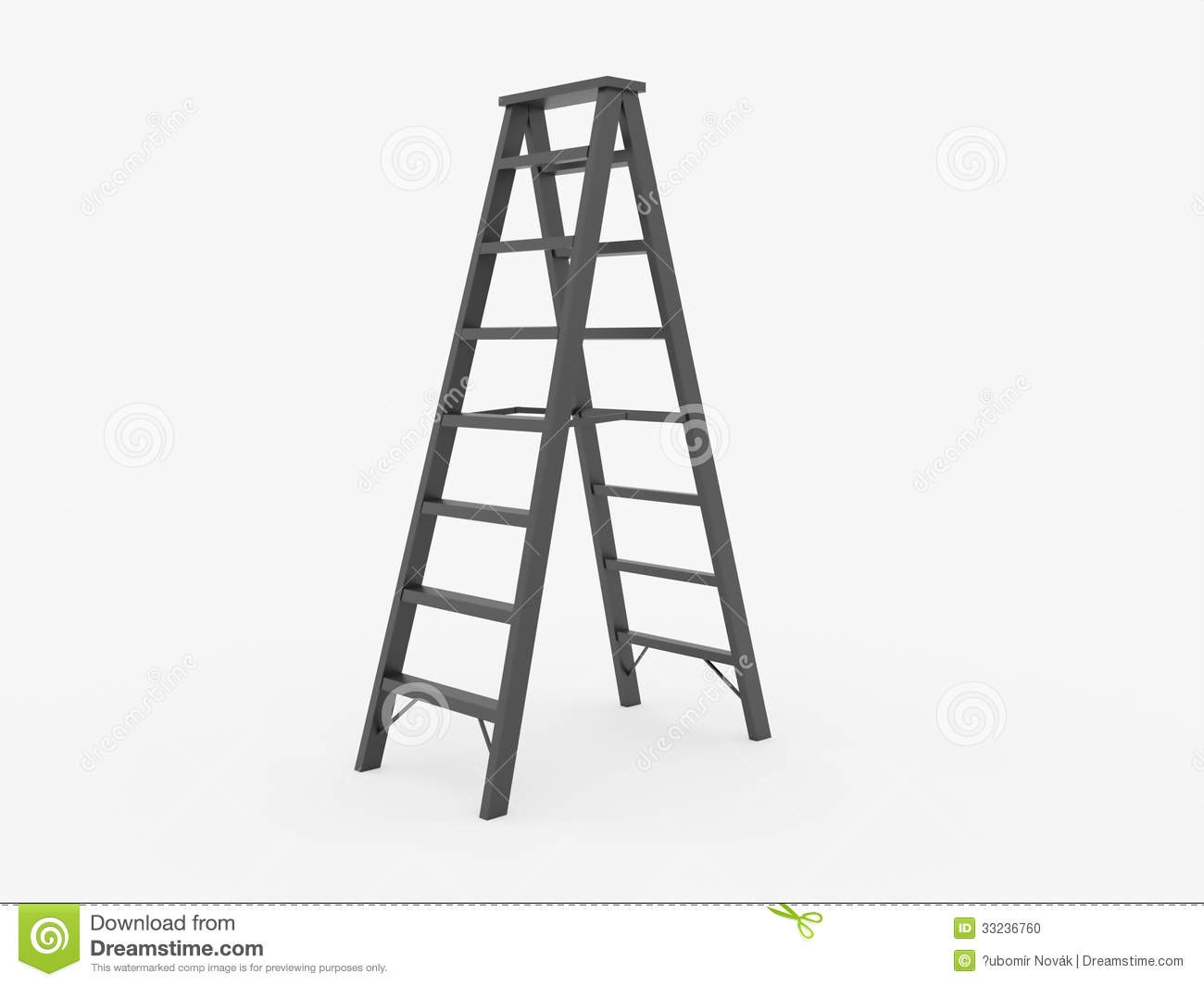 Ladder No Background Clipart.