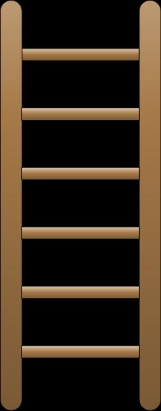 Wood ladder PNG.