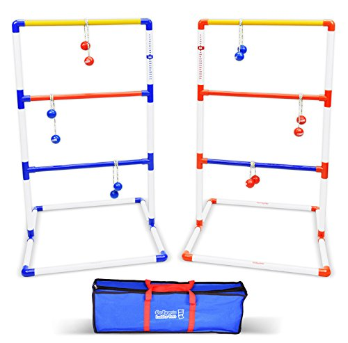 Buy GoSports Premium Ladder Toss Game with 6 Bolos and.