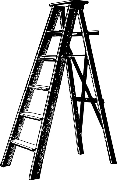 Ladder clip art Free vector in Open office drawing svg.