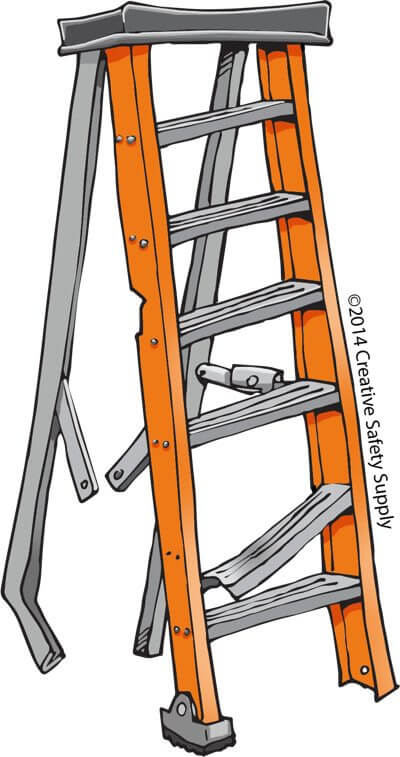 """Idiots on Ladders"""" Contest Raises Awareness about Ladder."""