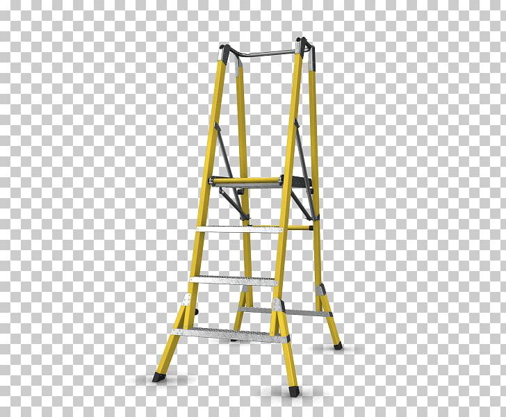 Ladder Fiberglass Business Building Architectural.