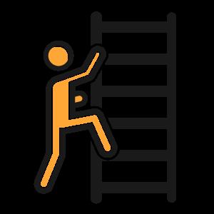 Ladder Safety Clipart.