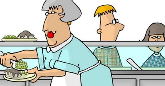 Lunch Ladies Clipart.