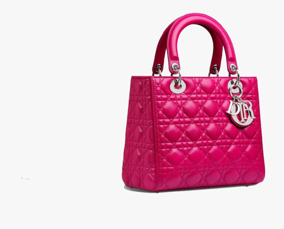 Pink Fashion Christian Bag Dior Handbag Lady Clipart.