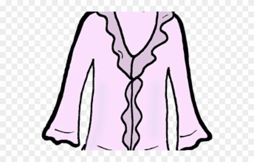Female Blouse Sketch Icon Source Clipart (#2626030).