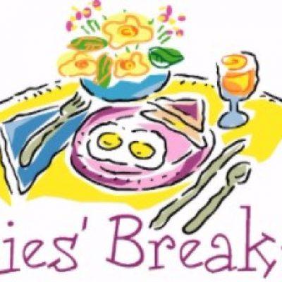 Ladies Breakfast Clipart.