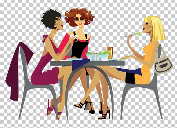 Ladies Who Lunch Woman Lunch Lady Restaurant PNG, Clipart, Art.