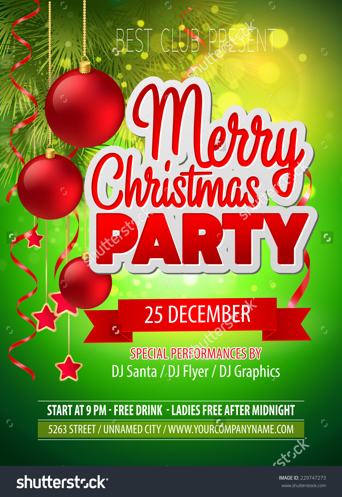 Showing post & media for Ladies christmas party flyer.