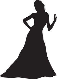 Ladies Dress Clipart.