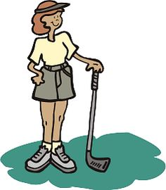 Ladies golf clip art free women golfer golf clips.