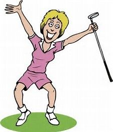 Image result for ladies golf clip art free.