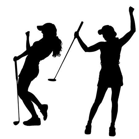 Girl golfer clipart 6 » Clipart Station.