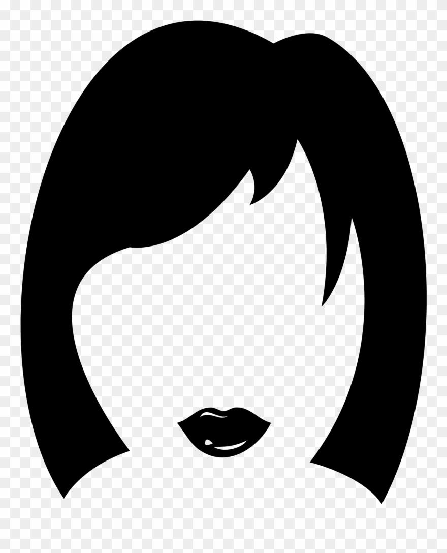 Haircut Clipart Woman Hair.
