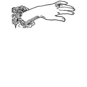 Ladies Hand with Diamond Ring clipart, cliparts of Ladies.
