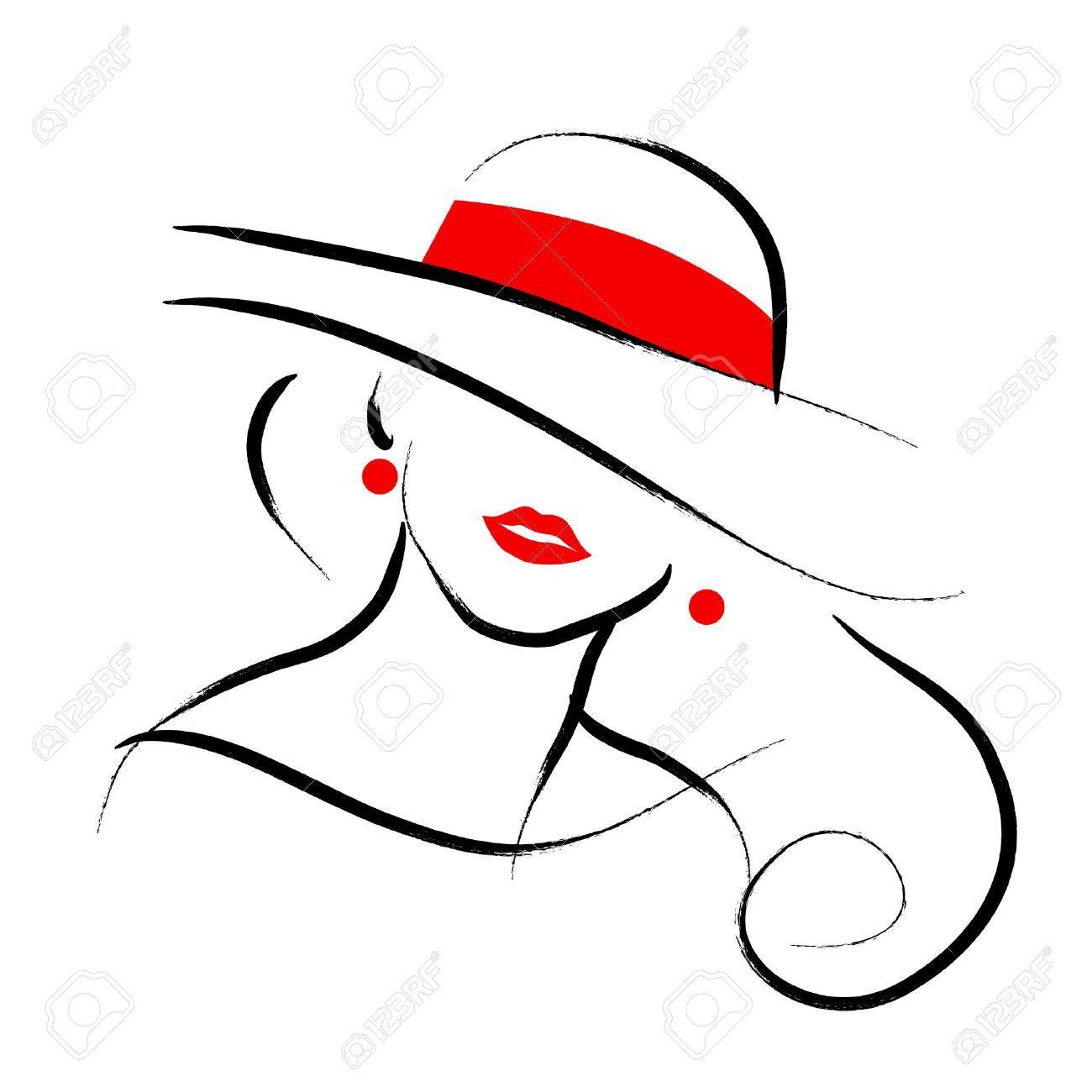 Lady hat clipart 4 » Clipart Portal.