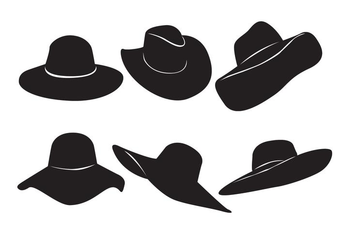 Free Woman Hat Vector.