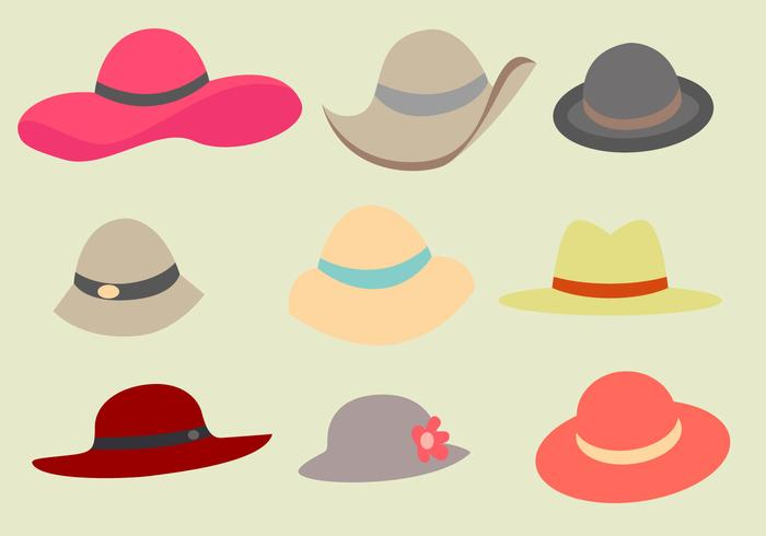 Free Ladies Hat Vector.