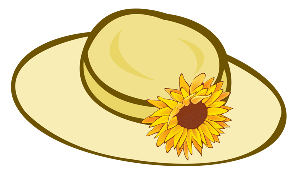 Ladies Hats Clipart.