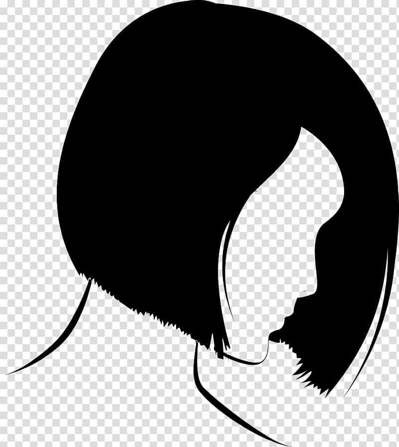 S, Beauty Face Illustration, Ladies hair short hair.