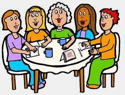 Ladies luncheon clipart.