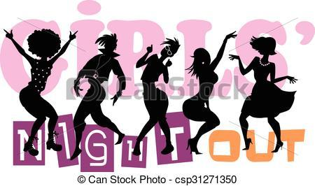 Ladies night out clipart 5 » Clipart Portal.
