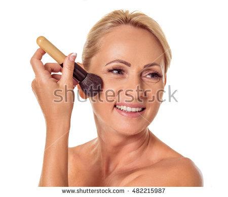 Face Powder Stock Photos, Royalty.