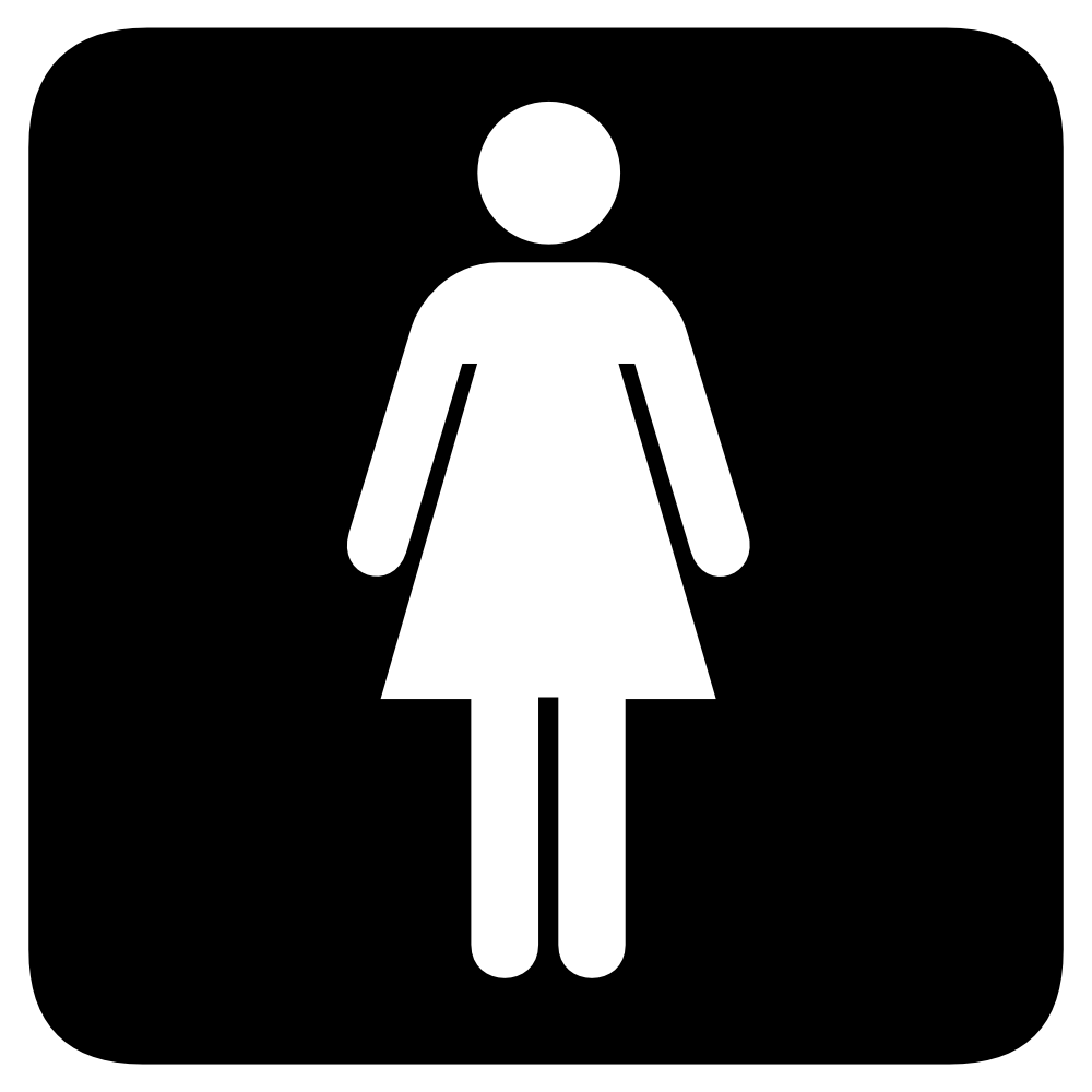 Showing post & media for Ladies bathroom symbol.