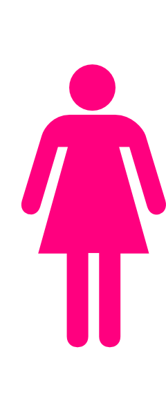 Showing post & media for Woman restroom symbol.