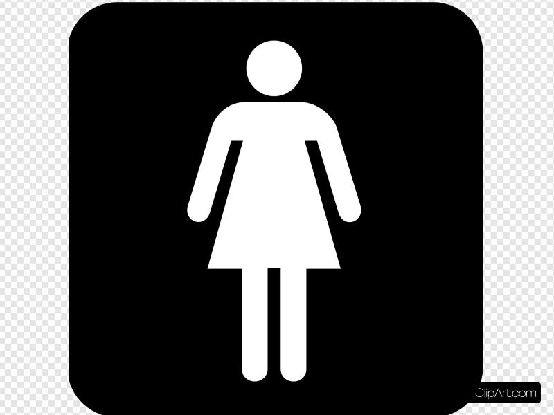 Ladies Room 2 Clip art, Icon and SVG.