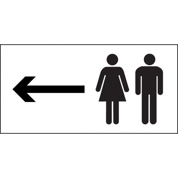 Free Printable Restroom Signs Clipart.