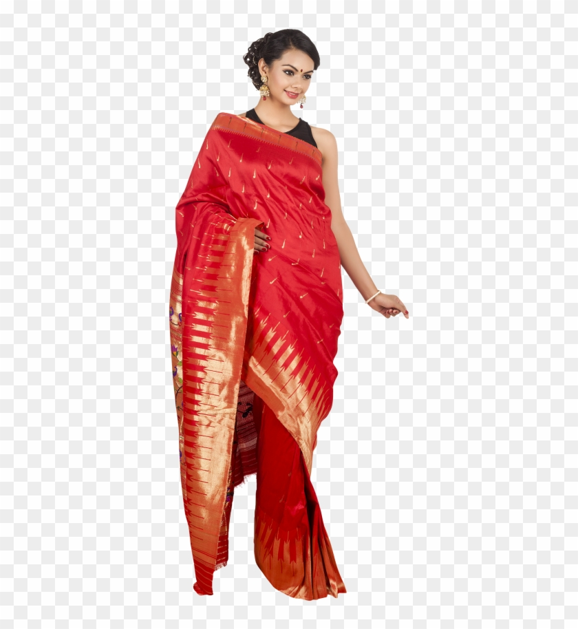 Ladies Saree Png.
