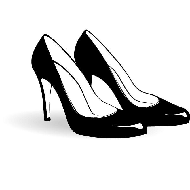 Clipart ladies shoes.