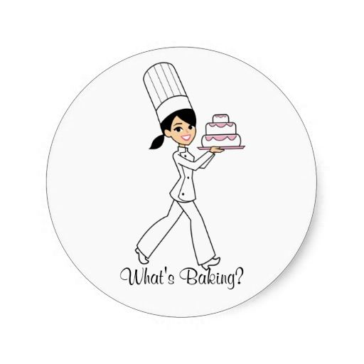 What's Cooking Sticker.