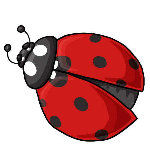 20 FREE Ladybug Clip Art Drawings and Colorful Images.