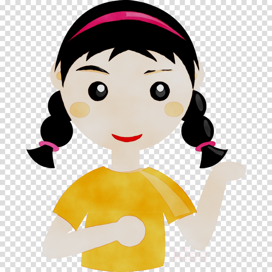 Girl Cartoon clipart.