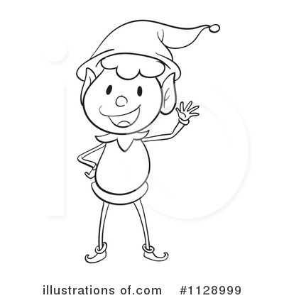 Clipart lady christmas elf.