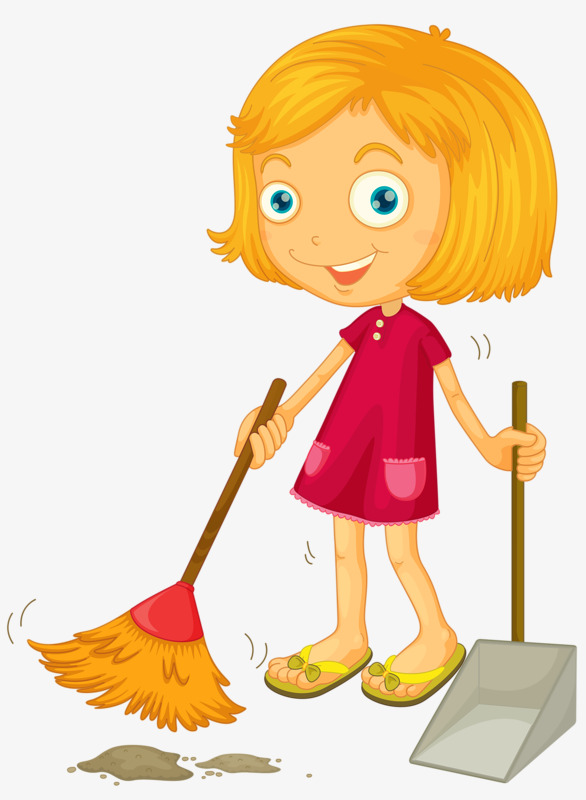 Cleaning clipart female, Cleaning female Transparent FREE.