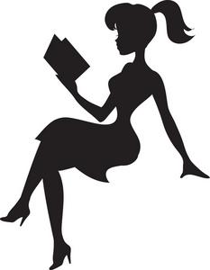 Pretty Lady Clipart.
