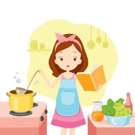 Ladies Cooking Cliparts Free Download Clip Art.