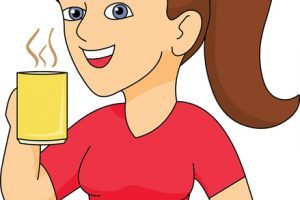 Lady drinking coffee clipart 7 » Clipart Portal.