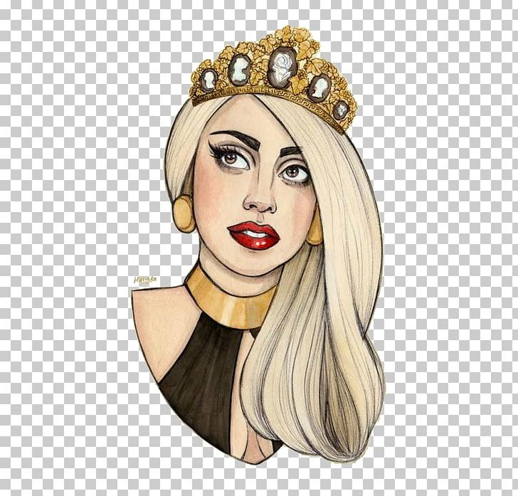 Lady Gaga Drawing Fan Art PNG, Clipart, Art, Artpop, Born.