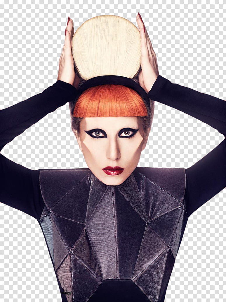 LADY GAGA transparent background PNG clipart.