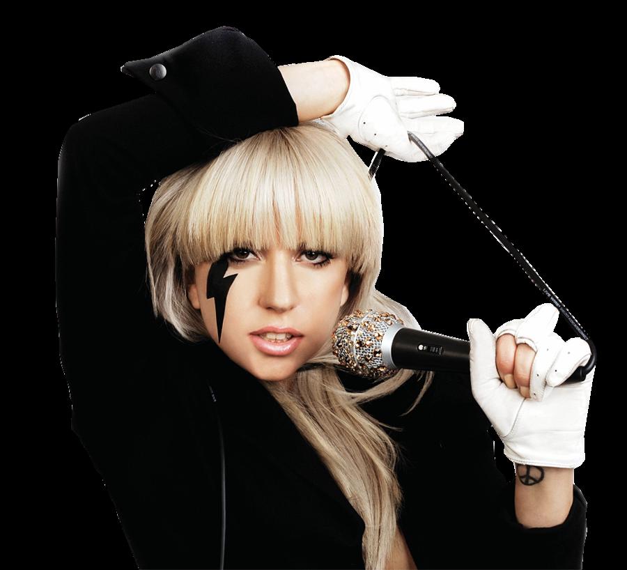 Lady Gaga PNG HD.